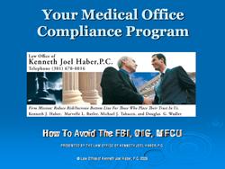 Medical Office Compliance Program