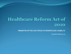 Healthcare Reform Act of 2010